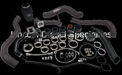 Wehrli Custom Fabrication - Wehrli Custom Fab 2001-2004 LB7 Duramax S300 Single Turbo Install Kit