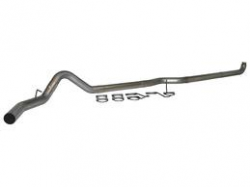 "Exhaust Systems - 4 Inch Systems - MBRP - MBRP PLM Series 4"" Down Pipe Back,  Single Side ,AL, NO MUFFLER (2001-2007)"