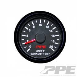 2017- L5P VIN Code  Y - Gauges & Pods - PPE - PPE Pyrometer Gauge (Exhaust Gas Temperature)