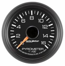 Auto Meter - Auto Meter Factory Matched Pyrometer Gauge