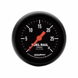 Auto Meter - Auto Meter Z-Series Fuel Rail Pressure Gauge Kit