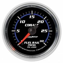 Gauges & Pods - Gauges - Auto Meter - Auto Meter Cobalt Series Fuel Rail Pressure Gauge