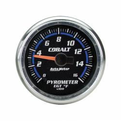 Gauges & Pods - Gauges  - Auto Meter - Auto Meter Cobalt Series Pyrometer Guage