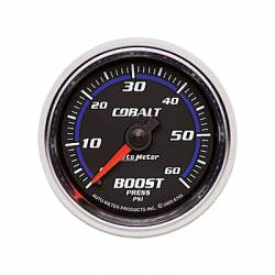 Gauges & Pods - Gauges  - Auto Meter - Auto Meter Cobalt Series Boost Gauge ( Universal)