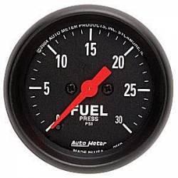 2017-2020- L5P VIN Code Y - Gauges & Pods - Auto Meter - Auto Meter Z-Series Fuel Pressure Gauge (Universal)