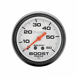 Gauges & Pods - Gauges  - Auto Meter - Auto Meter Phantom Series Boost Gauge (Universal)