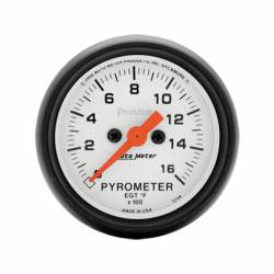 Gauges & Pods - Gauges  - Auto Meter - Auto Meter Phantom Series Pyrometer Gauge (Universal)