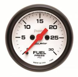 Gauges & Pods - Gauges - Auto Meter - Auto Meter Phantom Series Fuel Pressure Gauge