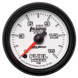 Gauges & Pods - Gauges - Auto Meter - Auto Meter Phantom II Series Fuel Pressure Gauge