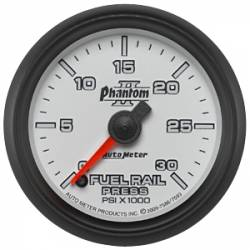 Gauges & Pods - Gauges  - Auto Meter - Auto Meter Phantom II Series Fuel Rail Pressure Gauge( Universal)