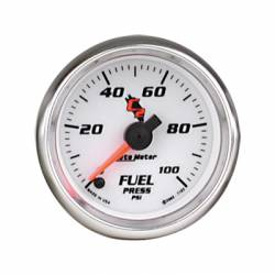 Gauges & Pods - Gauges  - Auto Meter - Auto Meter C2 Series Fuel Pressure Gauge