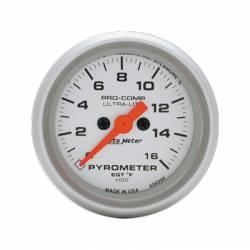 2017-2020- L5P VIN Code Y - Gauges & Pods - Auto Meter - Auto Meter Ultra-Lite Pyrometer Gauge (0-1600 °F)