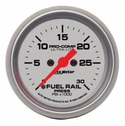 Gauges & Pods - Gauges - Auto Meter - Auto Meter Ultra-Lite Fuel Rail Pressure Gauge