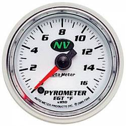 Gauges & Pods - Gauges  - Auto Meter - Auto Meter NV Pyrometer Gauge