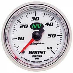 Gauges & Pods - Gauges  - Auto Meter - Auto Meter NV Boost Gauge