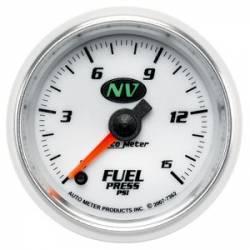 Auto Meter - Auto Meter NV Fuel Pressure Gauge