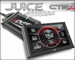2006-2007 LBZ VIN Code D - Programmers, Tuners, Chips - Edge Products - Edge Juice with Attitude CTS2 (LBZ)