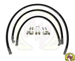 "Transmission - Transmission Kits & Lines - Deviant Race Parts - Deviant 1/2"" Leak Free Transmission Cooler Repair Lines 2001-2005"