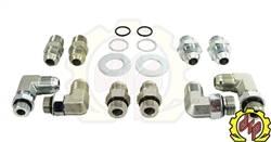 """Deviant Race Parts - Deviant 5/8"""" Leak Free High Performance Transmission Cooler Repair Lines 2006-2010 - Image 2"""