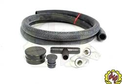 "2004.5-2005 LLY VIN Code 2 - 3"" Y-Bridge/EGR Kit - Deviant Race Parts - Deviant PCV Re-route Kit with Resonator Delete Plug (2004.5-2010)"