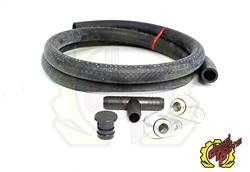 "2004.5-2005 LLY VIN Code 2 - 3"" Y-Bridge/EGR Kit - Deviant Race Parts - Deviant PCV Re-Route Kit (w/o Resonator  Plug) 2004.5-2010"
