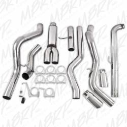 """MBRP - MBRP 4"""" Dual XP Series, Down Pipe Back, Cool Duals™ T409,Off-Road Exhaust System with Front Pipe, Muffler, and Tips - Image 4"""