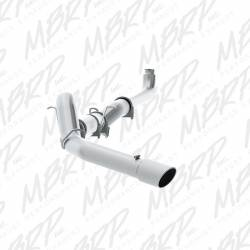 "Exhaust Systems - 5"" Systems - MBRP - MBRP XP Series 5"" Down Pipe Back, Single Side, T409, Exhaust System w/ Front Pipe, Muffler, & Tip (2001-2007)"