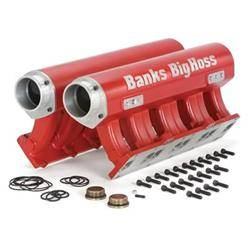 Exhaust - Exhaust Manifolds & Up Pipes - Banks - Banks Big Hoss Twin 16 Port Manifold Assembly (2001-2015)