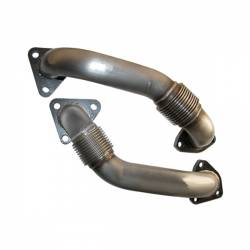 Exhaust - Manifolds & Up Pipes - PPE - PPE OEM Length Replacement Up-Pipes (2001-2016)