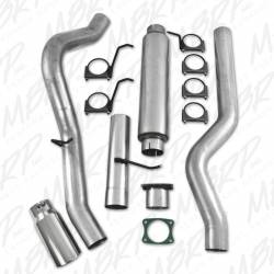 """MBRP - MBRP 4"""" Installer Series CAT Back Single Side Aluminized Exhaust System with Muffler and Tip - Image 4"""