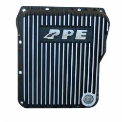 Transmission - Tranmission Pan - PPE - PPE Low Profile Aluminum Transmission Pan Brushed Finish