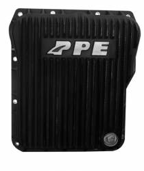 Transmission - Tranmission Pan - PPE - PPE Low Profile Aluminum Transmission Pan - Black Finish