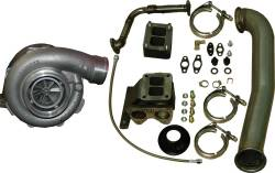 PPE - PPE Turbo Install Kit with Garrett GT42R Turbo