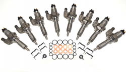 Injectors - Updated Stock Injectors - 2001-2004 OEM Genuine Reman LB7 Fuel Injectors