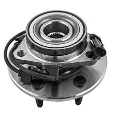 2001-2004 LB7 VIN Code 1 - Steering/Front End - GM - GM OEM Front Wheel Hub and Bearing Assembly, 2WD (2500)