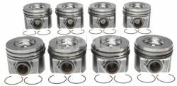Mahle - MAHLE Full Set Right and Left Side Piston w/ Rings STD.