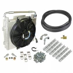 Transmission - Transmission Coolers - BD Diesel Performance - BD-Power Xtruded Double Stacked Auxiliary Trans Cooler Kit (2001-2016)