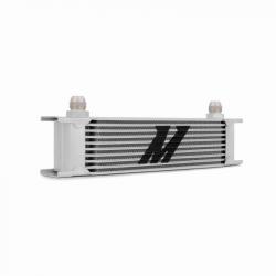 2011-2016 LML VIN Code 8 - Cooling System - Mishimoto - Mishimoto Universal 10 Row Oil Cooler (Silver)