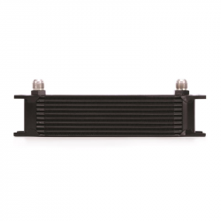 Mishimoto - Mishimoto Universal 10 Row Oil Cooler (Black)