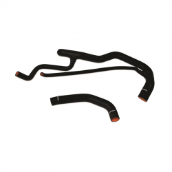 Cooling System - Hoses, Hose Kits, Pipes & Clamps - Mishimoto - Mishimoto Duramax Silicone Hose Coolant Kit (Black)