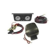 2004.5-2005 LLY VIN Code 2 - Suspension - AIR LIFT - Airlift Load Controller II Onboard Air Compressor System - Dual Gauge (2001-2018)