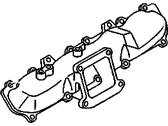 Engine - Engine Components - GM - GM OEM Intake Manifold Runner (RH)(2006-2010)
