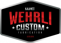 "Wehrli Custom Fab - Wehrli Custom Fab Dry Air Filter 4"" Inlet (2001-2016)"