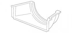 Cooling System - Cooling Fans & Fan Parts - GM - GM Fan Shroud (Lower) (2006-2010)