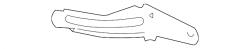Cooling System - Cooling Fans & Fan Parts - GM - GM OEM Lower Fan Shroud Bracket (Right)
