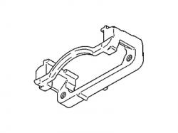 Brake System and Components - Hardware/Brackets/Miscellaneous - GM - GM Front Caliper Support Bracket (Passenger Side) 2001-2010