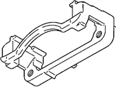 Brake System and Components - Hardware/Brackets/Miscellaneous - GM - GM OEM Rear Caliper Support Bracket (Drivers Side) 2001-2007