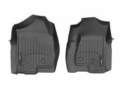 Interiors - Interiors Accessories/Necessities - WeatherTech - WeatherTech Duramax  Front Driver & Passenger Laser Measured Floor Liners (Black) 2001-2007