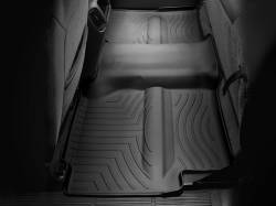 Interiors - Interiors Accessories/Necessities - WeatherTech - WeatherTech Duramax 2nd Row Only Floor Liner with Full Underseat Coverage (Black) 2001-2007