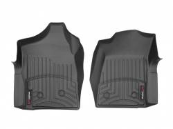 Interiors - Interiors Accessories/Necessities - WeatherTech - WeatherTech Duramax  Front Driver & Passenger Laser Measured Floor Liners (Black) 2001-2007(Reg.Cab.Only)
